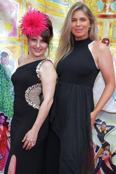 Annette Higgins, left, Michelle Okhremchuk
