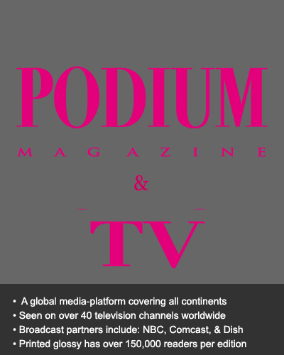Podium Magazine and TV Web