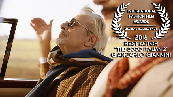 IFFA Award for Best Actor 2016 to Gaincarlo Giannini for The Good Italian 2 WEB RES