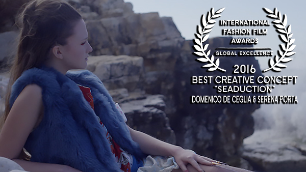 IFFA Award for Best Creative Concept 2016 to Dominco de Ceglia and Serena Porta for Seaduction WEB RES