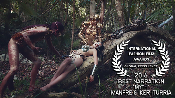 IFFA Award for Best Narration 2016 to Manfre and Iker Iturria for Myth WEB RES