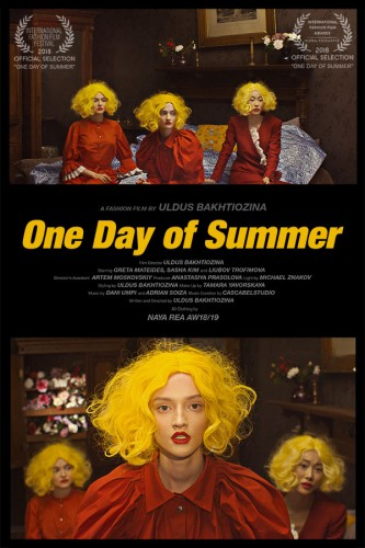 One Day of Summer poster fu 2